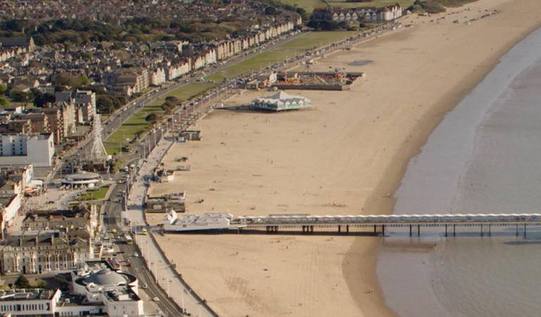 Weston Beach Drone